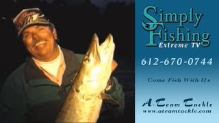 Simply Fishing #1206 Bob Mehsikomer & Sylvia James Hunt Muskies