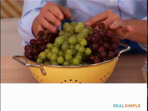 How To Buy And Store Grapes Real Simple Youtube