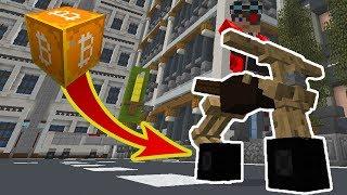 КРИПТОГОРОД! ОГРАБИЛ ОГРОМНЫЙ СЕЙФ С БИТКОИНАМИ И КУПИЛ СЕБЕ КРУТОЙ БАЙК ! Minecraft