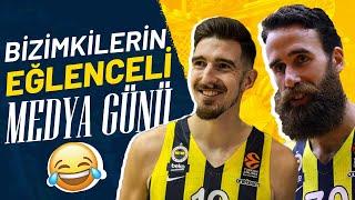 Fenerbahçe Beko'nun Eğlenceli Medya Günü! 😂