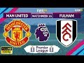 Manchester United vs Fulham 4-1 | Premier League 2018/19 | Matchweek 16 | 08/12/2018 | FIFA 19
