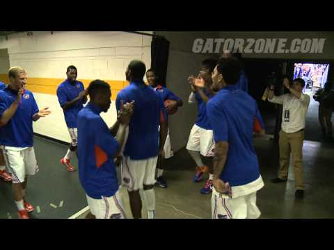 Florida Basketball Walk Out - SEC Tournament