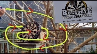 Darts Trick Shots l Out Of This World
