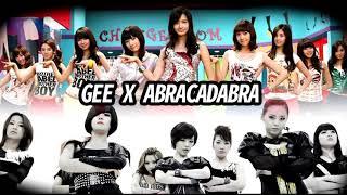 SNSD X Brown Eyed Girls (Gee x Abracadabra)