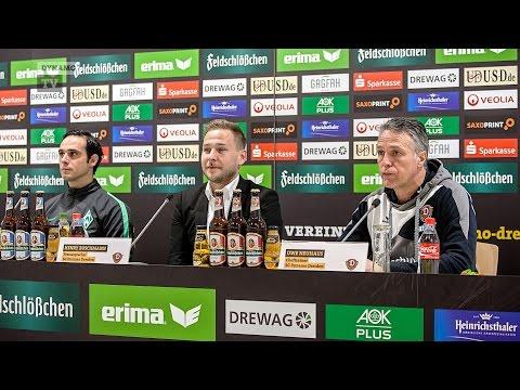 25. Spieltag | SGD - SVW | Pressekonferenz nach dem Spiel