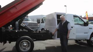 Town and Country Truck/Trailer #5875: 2002 Ford F550 One Ton 2-3 Yard Dump Truck
