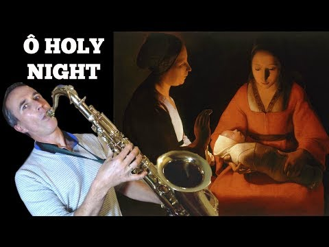 O Holy Night | Minuit, Chrétiens (Céline Dion) 🎷 Tenor Saxophone cover