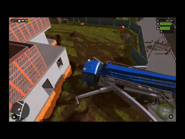 Let's Play Bau-Simulator 2015   Gießen wie die Profis   Folge #028