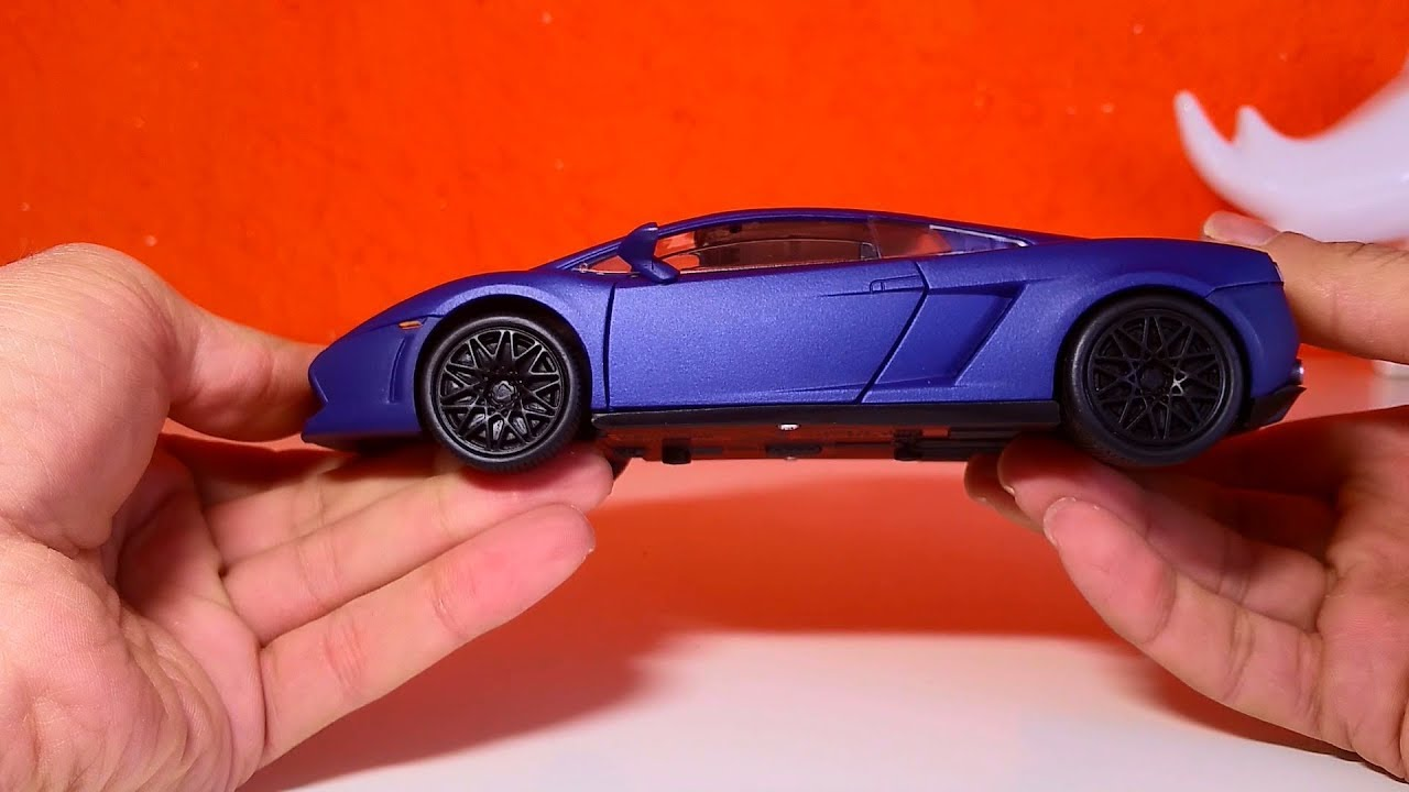 Amazing Model car 07 :: Lamborghini Gallardo  1:24 scale Must see