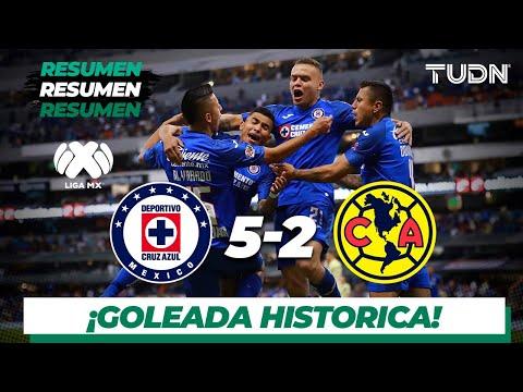 Resumen Y Goles | Cruz Azul 5 - 2 América | Liga MX - Apertura 2019  - Jornada 13 | TUDN
