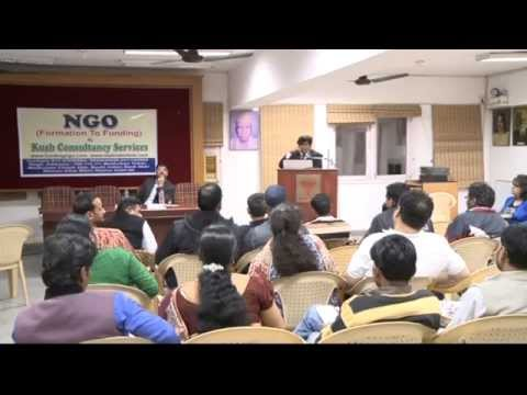 NGO SEMINAR ON FCRA REGISTRATION & FUNDING BY CA SANJAY GUPTA