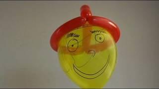 Aprende a hacer un gorro con globos, globoflexia