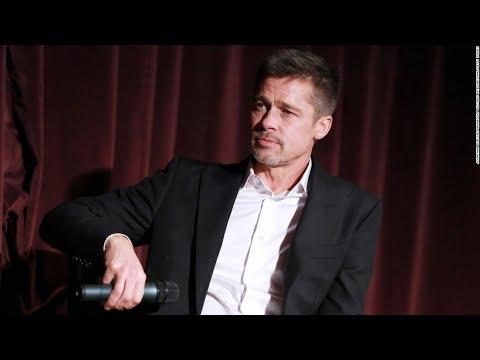 Exclusive Brad Pitt Interview 2017!
