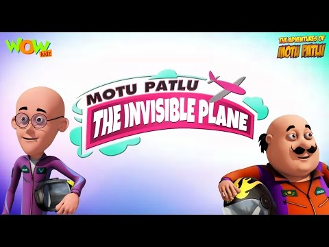The Invisible Plane | Motu Patlu Movie | 3D Animation Movie for Kids |As seen on Nick