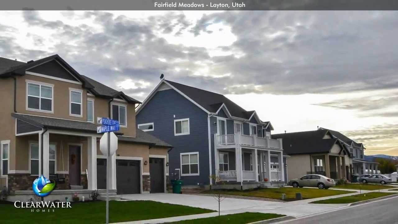 Fairfield meadows new homes for sale in layton utah for Modern homes utah for sale