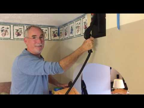 Greatest and easiest way to remove wallpaper using Wagner steamer