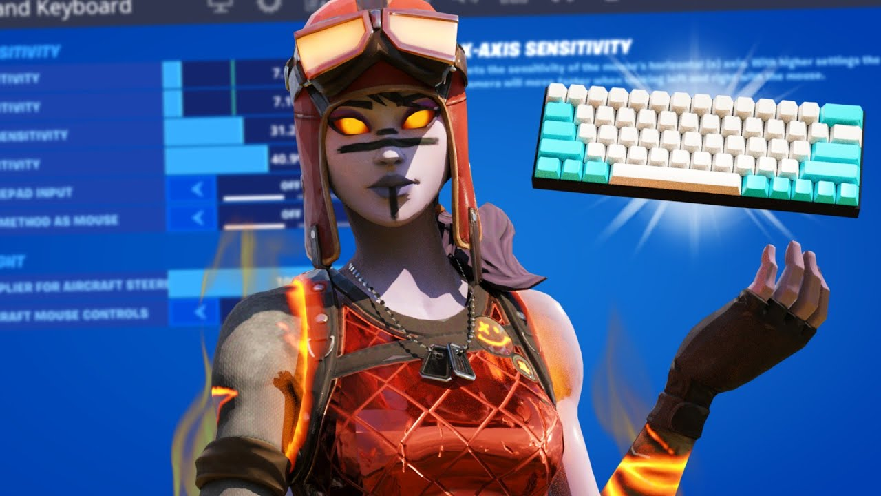BEST Keyboard + Mouse Fortnite Settings + DPI + Sensitivity (PC Chapter 2 Season 3)
