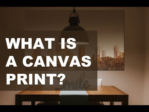 Houston:  Canvas Gallery Wrap - Digital Prints: Production Details to Final Wall Display