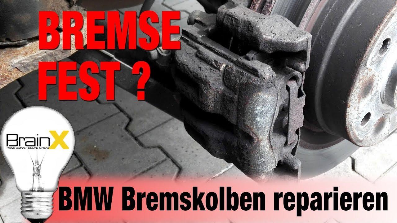 bremse fest bremssattel klemmt hier die reparatur bmw 1er. Black Bedroom Furniture Sets. Home Design Ideas