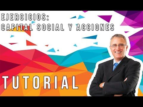 CAPITAL SOCIAL Y REPARTICIÓN DE ACCIONES EJERCICIOS VENEZUELA