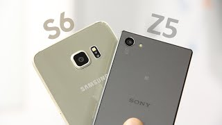 Galaxy S6 vs Xperia Z5: ¡Test de Cámara!