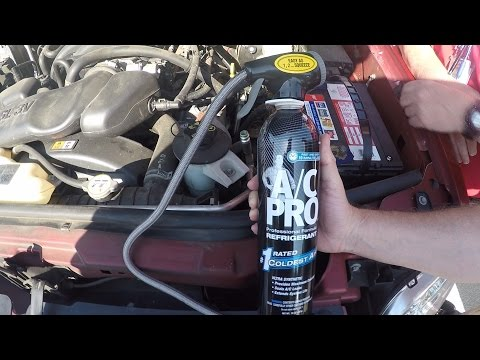 How to charge your auto A/C with the AC Pro Kit