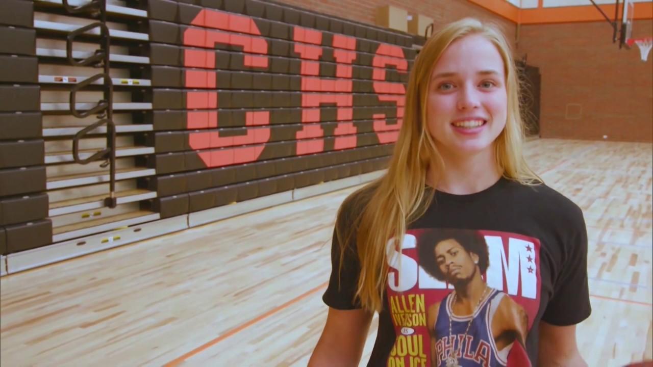 Hailey Van Lith on Sports Stars Of Tomorrow 2020-02-05