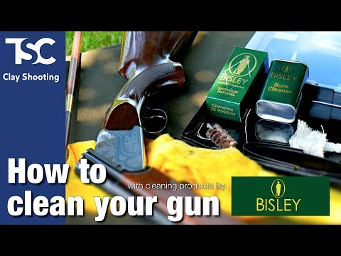 How to clean your gun