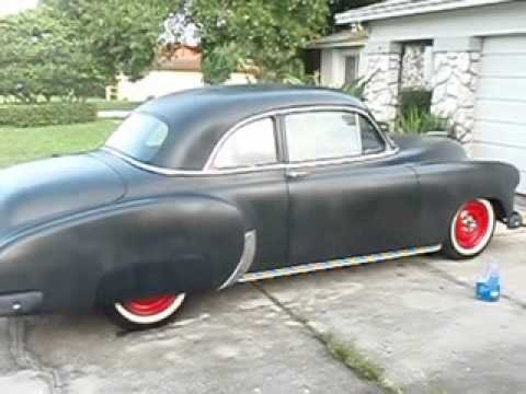 Her Hot Rod 1950 Chevy Bel Air Youtube