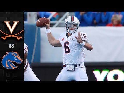 Virginia vs. Boise State Football Highlights 2017