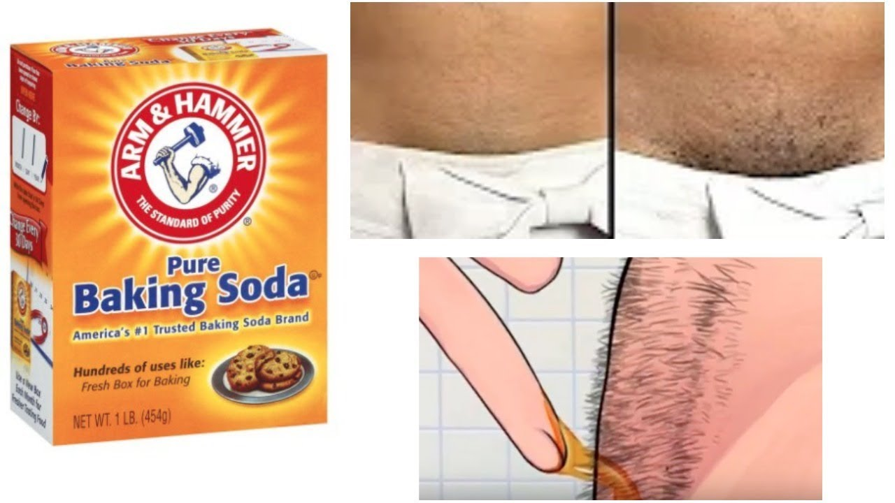 STOP SHAVING! USE BAKING SODA INSTEAD FOR PROPER HAIR REMOVAL