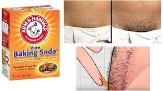 STOP SHAVING! USE BAKING SODA INSTEAD FOR PROPER HAIR REMOVAL