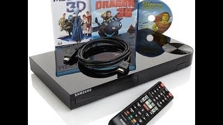 Samsung Smart 3D WiFi Bluray Player with 3 Discs