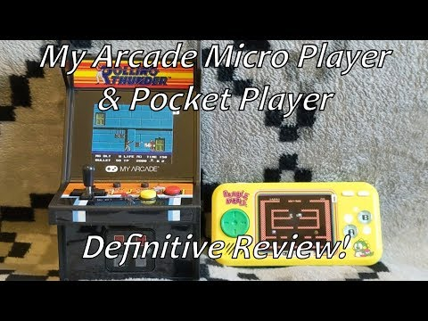 My Arcade Rolling Thunder Micro Player & Bubble Bobble Pocket Player Definitive Review