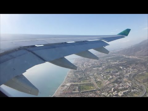 Aer Lingus Airbus A330-202 | Malaga to Dublin *Full Flight*