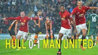 Hull City Vs Manchester United 0-1 Highlights Premier Legue 2016