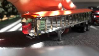 Diecast Trucks: Different DCP Dump trailer options!!