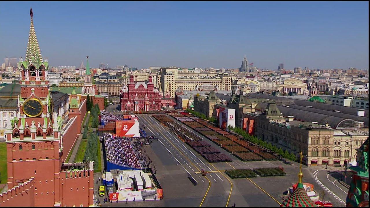 Moscou : défilé militaire en l'honneur du 75e anniversaire de la victoire sur l'Allemagne nazie