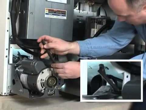 How To Replace Stack Tumbler Belt Upper 30lb 45lb Youtube