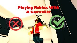 Playing Jailbreak With A Controller - Roblox