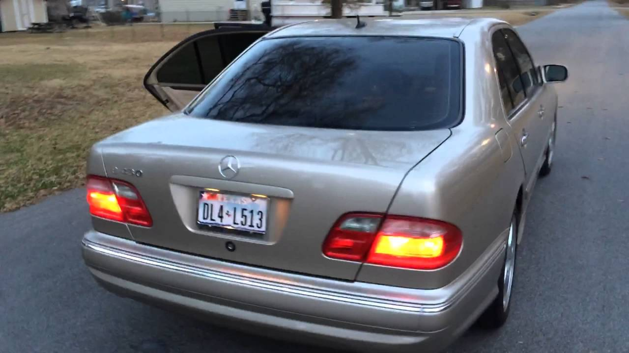 2001 mercedes e430 sold my beautiful car youtube. Black Bedroom Furniture Sets. Home Design Ideas
