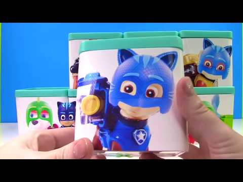 Paw Patrol Turn into PJ Masks Surprise Toy Blind Boxes Disney & Nick Jr. Candy & Slime