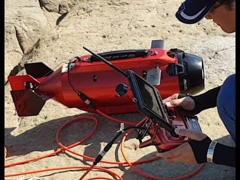 TTRobotix Underwater Drone GoPro Seawolf Ocean Master Submarine ROV maiden voyage at the sea Pokemon