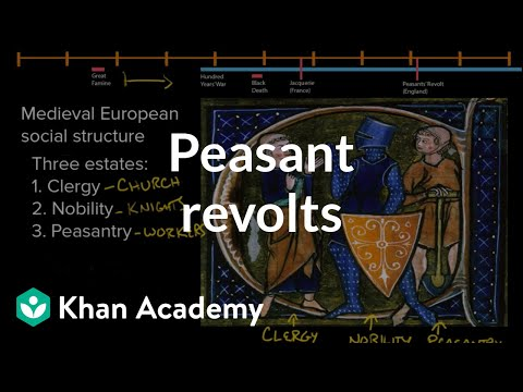 Peasant Revolts | World History | Khan Academy