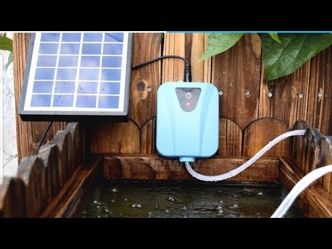 Solar Air Pump From WISH Unboxing/review