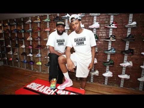 Sneaker Pawn: Teenage Entrepreneur Opens First Sport Shoe Pawn Shop