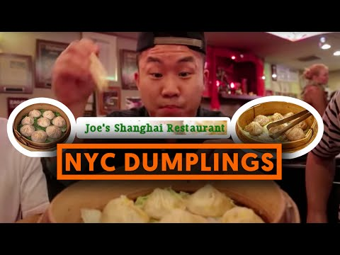 SOUP DUMPLINGS (Xiao Long Bao) - Joe's Shanghai - Fung Bros Food