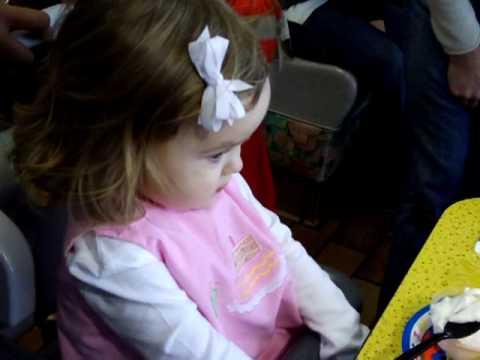 Mary Oakley enjoys her 2nd birthday festivities at...