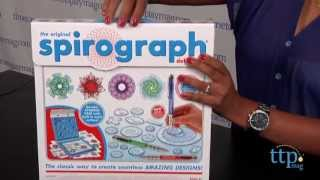 The Original Spirograph Deluxe Kit from Kahootz
