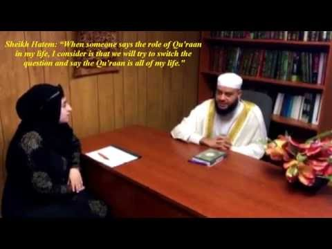Sheikh Hatem Farid Interview - مقابلة الشيخ حاتم فريد